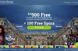 Euro Palace Slots Casino Review