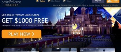 Spin Palace Slots Casino Review