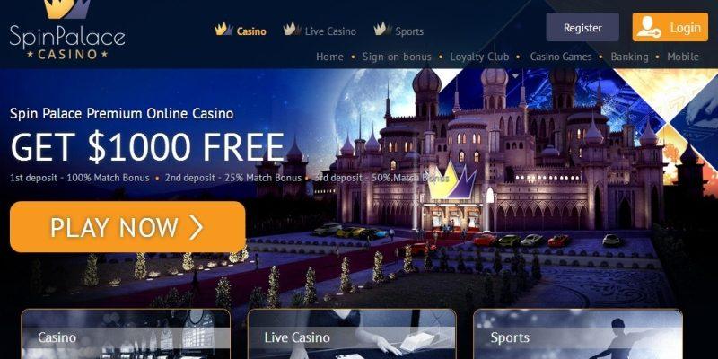 Spin Palace Slots Casino Review
