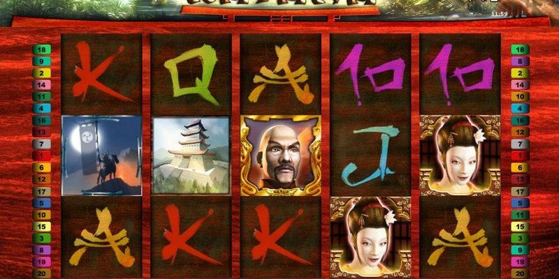Spin The Wheels And Try Your Luck Using Katana Slot
